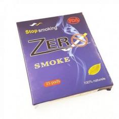 Set 25 plasturi antifumat cu nicotina Zerosmoke
