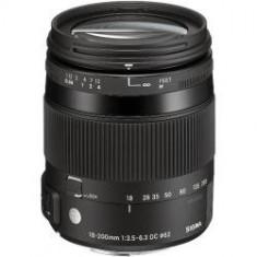 Obiectiv Sigma 18-200mm F3.5-6.3 DC Macro OS HSM C pentru Nikon - Obiectiv DSLR
