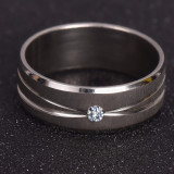 Inel argintiu de Casatorie, Logodna, Nunta - aspect aur alb (SETUL doar 65 lei)