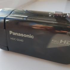 CAMERA VIDEO PANASONIC SD40 // FULL HD // 16 GB PNY PROFESSIONAL // HDMI // OIS