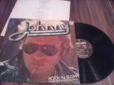 VINIL LP ALBUM JOHNNY HALLYDAY ROCK'N SLOW FOARTE RAR!!! DISC PHILIPS 1974