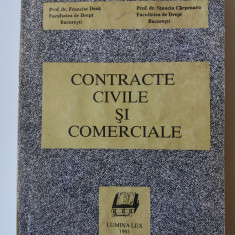 Contracte Civile Si Comerciale - Francisc Deak, Stanciu Carpenaru (4+1) - Carte Drept civil