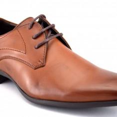 Pantofi barbatesti maro eleganti - Doc, Marime: 44