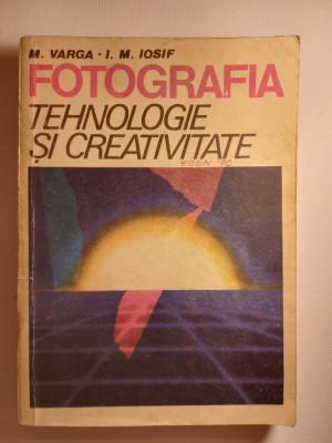 Fotografia tehnologie si creativitate, Editura Tehnica 1986 foto