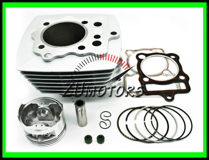 CILINDRU ATV Bashan 200 200cc 63.5MM Aer
