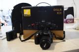 Aparat foto NIKON D3300 utilizat o data + 2  obiective