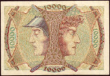 SV * Germania  10.000  MARCI / 10000  MARK  1923 NOTGELD  MANNHEIM     UNC
