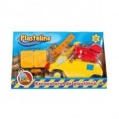 Excavatorul de Plastilina - Jocuri arta si creatie Noriel