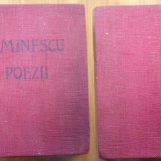 Mihai Eminescu , Poezii , 1939 , editia Municipiului Bucuresti , ilustrata