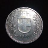ELVETIA 5 franci francs 1978, Europa
