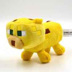 Minecraft plush pack ! Character: Ocelot- 18 cm + Bratara CADOU !! - Jucarii plus