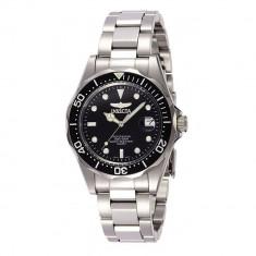 Ceas Luxury Barbati INVICTA Pro Diver 8932 Quartz Cadran Negru Produs Original - Ceas unisex, Inox, Otel