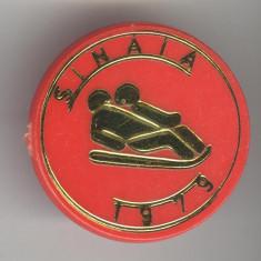 SANIUTA - Concurs Sinaia 1979 - Insigna sport de iarna Romania