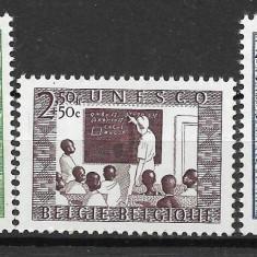 Belgia 1951 - Timbre straine, Nestampilat