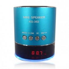 Mini boxa portabila cu MP3 KS-362/360