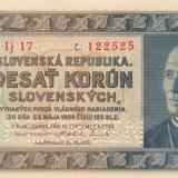 Slovacia  10 Korun 1939  Specimen   P.4s   UNC