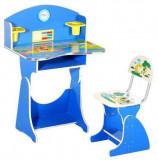 Birou copii cu scaunel pentru baieti