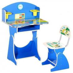 Birou copii cu scaunel pentru baieti - Masuta/scaun copii