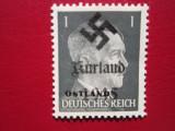 TIMBRE GERMANIA OCUPATIA KURLAND SERIE=MNH, Nestampilat