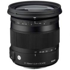 Obiectiv Sigma 17-70mm f/2.8-4 DC Macro OS HSM Contemporary montura Nikon - Obiectiv DSLR