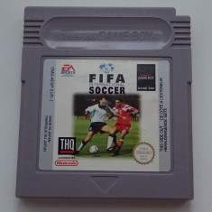 Card caseta Nintendo GameBoy FIFA International Soccer primul joc EA - Jocuri Game Boy Ea Sports, Sporturi, Toate varstele, Multiplayer