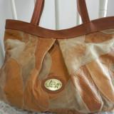 Geanta vintage din piele, Topstyle LBM