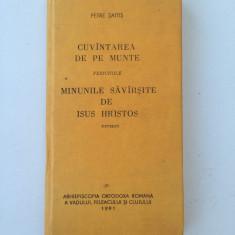 Cuvantarea de pe munte/carte rugaciuni/Petre Saitis/1991 - Carte de rugaciuni