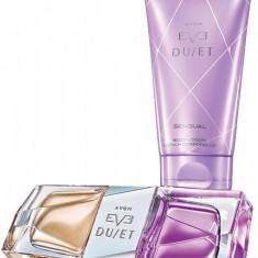 Eve Duet 50 ml AVON ORIGINAL + lotiune corp - Parfum femeie Avon, Apa de parfum