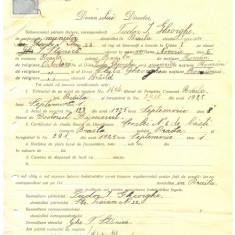 Z306 DOCUMENT VECHI -SCOALA COMERCIALA, BRAILA - TUDOR I. GHEORGHE -AN 1925 - Hartie cu Antet