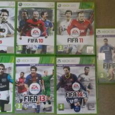 Vand pachet 7 jocuri fifa xbox 360 - Fifa 14 Xbox 360 Ea Sports