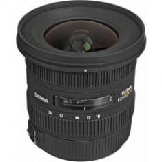 Obiectiv foto Sigma10-20mm f/3.5 EX DC HSM Autofocus pentru Nikon - Obiectiv DSLR