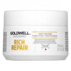 Goldwell Dualsenses Rich Repair 60sec Treatment masca pentru păr uscat si deteriorat 200 ml - Masca de par