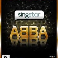 Singstar ABBA - PS2 [Second hand] fm, Board games, 3+, Multiplayer