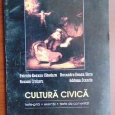 Cultura civica Teste grila Exercitii Texte de comentat