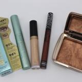 Produse Cosmetice Set Cadou : Mascara + Anticearcan + Ruj + Pudra