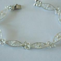 Bratara argint filigran -1760