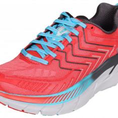 Hoka Clifton 4 W pantofi alergare femei rosu UK 5,5