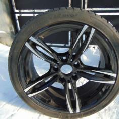 Jante Aliaj, aluminiu +cauciucuri de vara marca -BMW 5X120 ET34 J8.5 - Janta aliaj BMW, Diametru: 18, Numar prezoane: 5