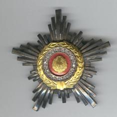 Ordinul STEAUA REPUBLICII SOCIALISTE ROMANIA clasa a 3a - Superba 1970's - Decoratie