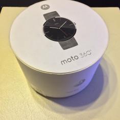 Motorola Moto 360 Smartwatch CA NOU, Otel inoxidabil