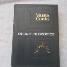 Vasile Conta - Opere filozofice - Filosofie