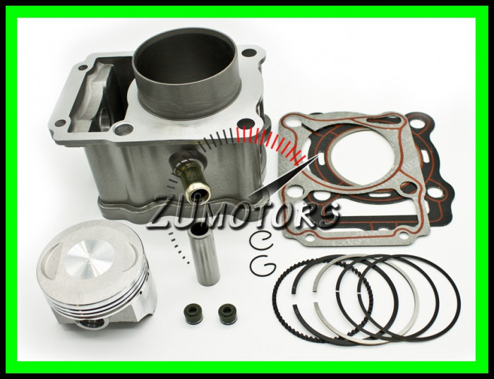 Set Motor 200 ATV 4t Apa LF200 Piston 63.5mm
