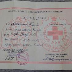 Diploma,, Gata pentru Apararea Sanitara