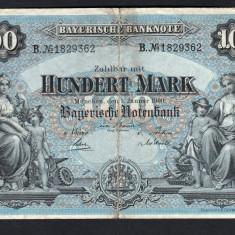 Germania 100 Mark s1829362 1900 - bancnota europa