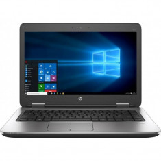 Laptop HP ProBook 640 G3 14 inch Full HD Intel Core i7-7600U 8GB DDR4 256GB SSD FPR Windows 10 Pro Black
