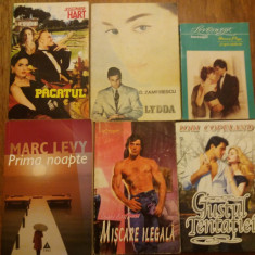 Lot 11 carti de dragoste - Harold Robbins.... / C16P - Roman dragoste