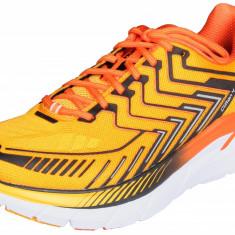Hoka Clifton 4 pantofi alergare barbati portocaliu UK 9,5