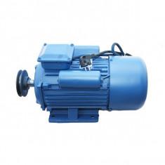 Motor Electric Monofazat 4Kw - 1500 Rotatii/min - TROIAN Albastru