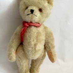 Urs / ursulet de plus / mohair, vechi, vintage, Austria, 20 cm - Jucarii plus