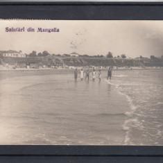 MANGALIA SALUTARI DIN MANGALIA CIRCULATA 1927 - Carte Postala Dobrogea dupa 1918, Printata